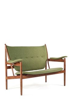 The Sterling Green/Wood Love Seat by Control Brand on @HauteLook
