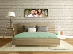 bedroom family portrait wall art Photography by: Jade Read Photography Gold Coast, Qld