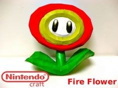 That's right, this Nintendo Craft is made out of paper.