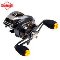 SeaKnight Brand SK1200-L 13+1 BB Two Brake System Left Hand Bait Casting Baitcasting Fishing Reel Fish Wheel