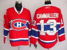 Montreal Canadiens 13 Michael CAMMALLERI Home Jersey
