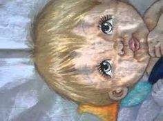 como pintar cabelinho de bebe em fraldas - Pesquisa Google