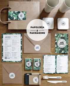 Holly Burger - papeleria y packaging: