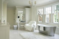 New Interior Design Ideas And Paint Colors For Your Home Weiße Badezimmer,  Große Badezimmer,