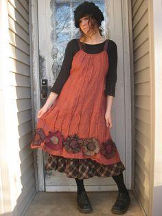 Flower Bottom Dress via Etsy.