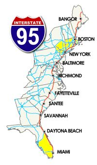 The I 95 Exit Information Guide Stopovers