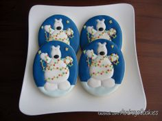 Christmas Polar Bears by Audrey's Cookies