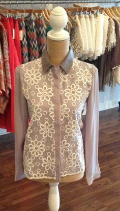 Flowered shirt $54