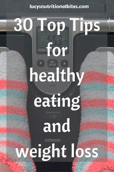 Are you dieting or trying to lose weight? These top tips will help you achieve your weight loss, fitness and healthy eating goals.