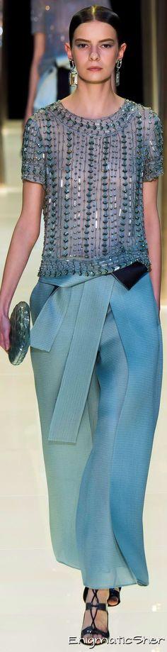 Giorgio Armani Privé Haute Couture Spring Summer 2015 More