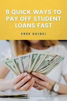 The best student loan payoff plan in 2021! Discover how to pay off your student loans fast. Student loan debt payoff. Student loan foregiveness. Paying Back Student Loans, Best Student Loans, Ways To Save Money, Make More Money, What Is Success, Good Paying Jobs, Finance Jobs, How To Become Rich, Study Hard