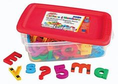 School Smart Jumbo Magnetic Letters and Numbers - 2 1/2 inches - Set of 100 - Multiple Colors $33.78 (save $2.87)