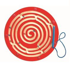 The Magnetic Circle Express provides fun and educational experience for many young children. It features a magical wand attached that your kids can use to move the balls through the maze. This learning toy for kids helps enhance visual tracking, logical thinking, fine motor skills and eye-hand coordination. Excellent travel buddy for kids!