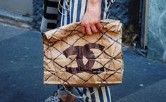 A Chanel paper bag? Seriously?
