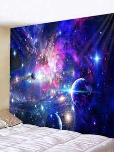 Cosmic Galaxy Print Wall Tapestry Cosmic Galaxy Print Wall Tapestry They are beautiful, lovable and affordable. You deserve it! Hanging Art, Tapestry Wall Hanging, Wall Hangings, Tapestry Ceiling, Tapestry Bedroom, Tapestry Nature, Moon Tapestry, Colorful Tapestry, Modern
