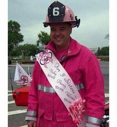now thats a big brother, breast cancer awareness, he's the greatest