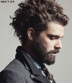 Mens messy hairstyles - hairstyles & haircuts for men & women Mens Messy Hairstyles, Short Curly Haircuts, Curly Hair Cuts, Cool Haircuts, Hairstyles Haircuts, Haircuts For Men, Curly Hair Styles, Modern Haircuts, Medium Hairstyles For Men