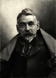 Stephane Mallarmé by Felix Nadar (1842-1898), Paris, 1986