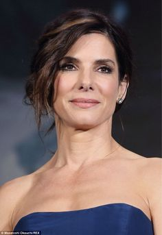 Sandra Bullock - She's lost that shiny plasticky look she had a few years back and looks stunning.