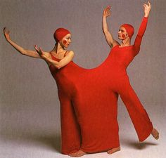 rudi gernreich, costumes for inscape, a ballet by bella lewitsky, 1976 (from the rudi gernreich book)