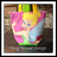 Tinkerbell Insulated Lunch Bag by MayFlowerDesign on Etsy