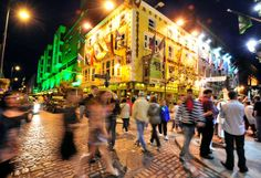 Dublin, Ireland    Photograph by Raul Touzon, National Geographic    Birthplace of Beckett, Joyce, and Yeats, Ireland's capital and largest city is a youthful arts, entertainment, culture, and commerce hub.