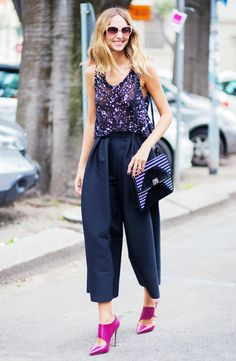 50 Summer Outfit Ideas From the Street Style Elite via @WhoWhatWear