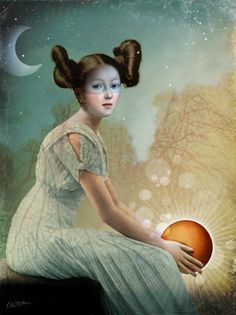 Night and Day by Catrin Welz-Stein a German Graphic Designer living in Malaysia. She creates amazing surreal illustrations from vintage photos
