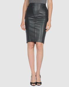 JASMINE DI MILO  Leather skirt