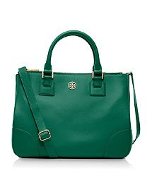 Robinson Double Zip Tote. love this emerald color!!