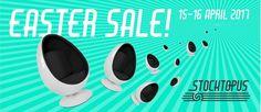 Easter Sale! Magazijn verkoop design meubilair -- Boortmeerbeek -- 15/04-16/04