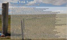 1300 yıllık Türkçe - 1300 years Turkish Language