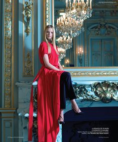 """Benjamin Kanarek is quickly becoming one of my favorite fashion photographers. He just released his editorial spread, """"In My Castle,"""" for Harpers BAZAAR en Español covering Haute Couture, which only comes twice a year and is only shown in Paris. The photos are absolutely gorgeous. This is truly fashion photography at it's finest!"""