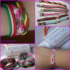 Braccialetti Multicolore Poni E Go