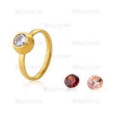anillo con cristal de dorado en acero inoxidable para mujer-SSRGG802022