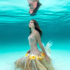 Ethereal Underwater Photos Capture Young Woman's Deep Connection with the Sea - My Modern Met
