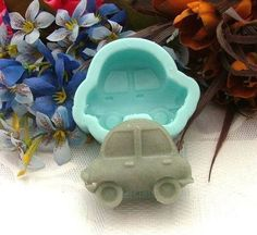 Car Soap Mould Flexible Silicone Cookie Mold Chocolate Mould Polymer Clay Mold Resin Mold Jewelry Mold R0246