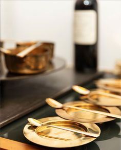 Special occasions, special silverware! ✨⁠⠀ Our MoonLashes collection is available in different coatings, from the dark, elegant titanium to magical gold for special moments.⁠ See •www.VERAPU.RE• for more!⁠ ⁠Photo by Faruk Pinjo. Luxury Glasses, Fine Dining, Special Occasion, Pure Products, Crystals, Elegant, Dark, Gold, Collection