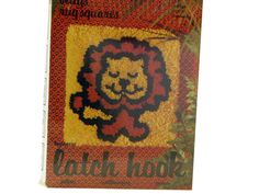 Omg! I had this latch hook kit! I doubt I ever finished it.