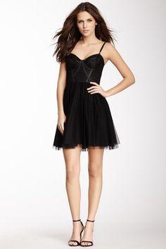 HauteLook | Jill Stuart: Jill Stuart Corset Top Mesh Skirt Dress