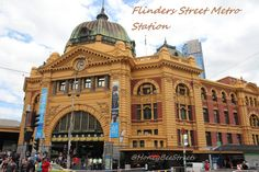 Honey Bee Sweets: Melbourne trip 2011: Flinders St., Station