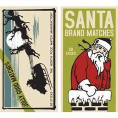 Matches - Santa Brand..008