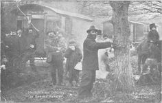 Macedonian gypsies in Epping Forest