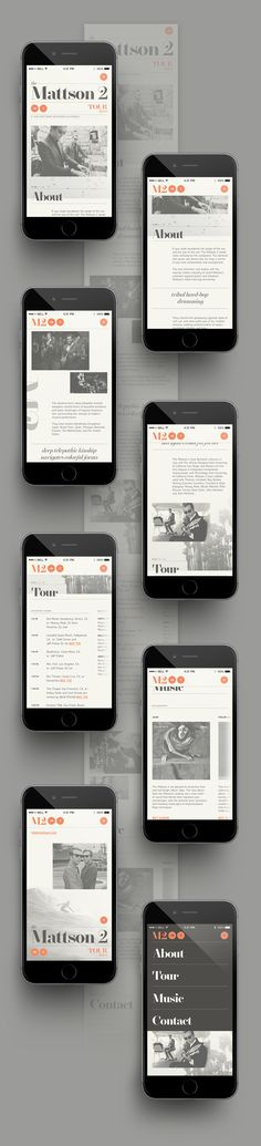 Thomas Le Corre on Behance #layout #ui #paper #newspaper #magazine #orange