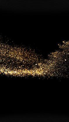 freeios8.com - vm72-gold-sparkle-beauty-dark-pattern - http://bit.ly/20anbt0 - iPhone, iPad, iOS8, Parallax wallpapers