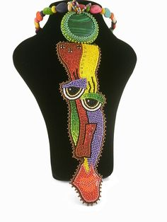 Евгения Васильева Funky Jewelry, Beaded Jewelry, Statement Necklaces, Beaded Embroidery, Beadwork, Boards, Faces, Quilts, Crystals
