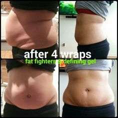 AMAZING results with It Works!!! After just 4 wraps, fat fighters and defining gel!! It REALLY works!!