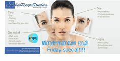 It's the leading skincare treatment in the UK & Ireland for complete rejuvenation. Microdermabrasion Facial exfoliates& resurfaces the skin! :)