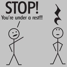 Musical pun.