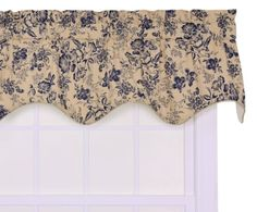 Ellis Curtain Palmer Floral Toile Lined Duchess Filler Valance Window Curtain, Navy Ellis Curtain http://www.amazon.com/dp/B005QPE7NU/ref=cm_sw_r_pi_dp_Eo1Bub0S653ZB